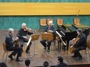 Quarteto de cordas Opus4 (Foto: Divulgação)