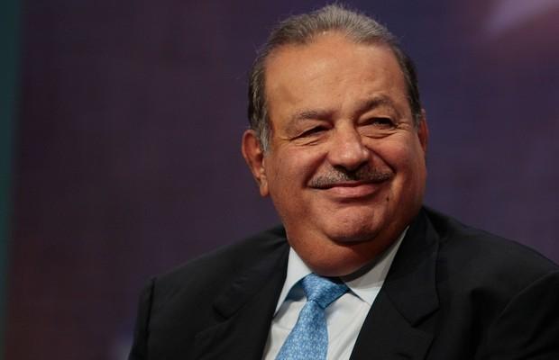 O bilionário mexicano Carlos Slim, da America Móvil (Foto: Getty Images)