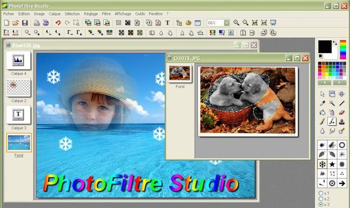 Photofiltre (Foto: Divulgação/Photofiltre)