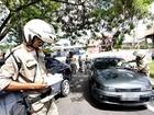 Arrecadação com multas de trânsito reduz 57% em 2016, diz Detran-AM