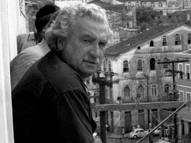 O Pelourinho, em Salvador, já foi cenário de diversas obras do escritor Jorge Amado (Foto: Acervo Zélia Gattai/Fundação Jorge Amado)