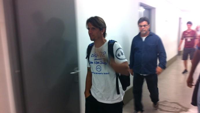 Diguinho Fluminense juizado (Foto: Vicente Seda)
