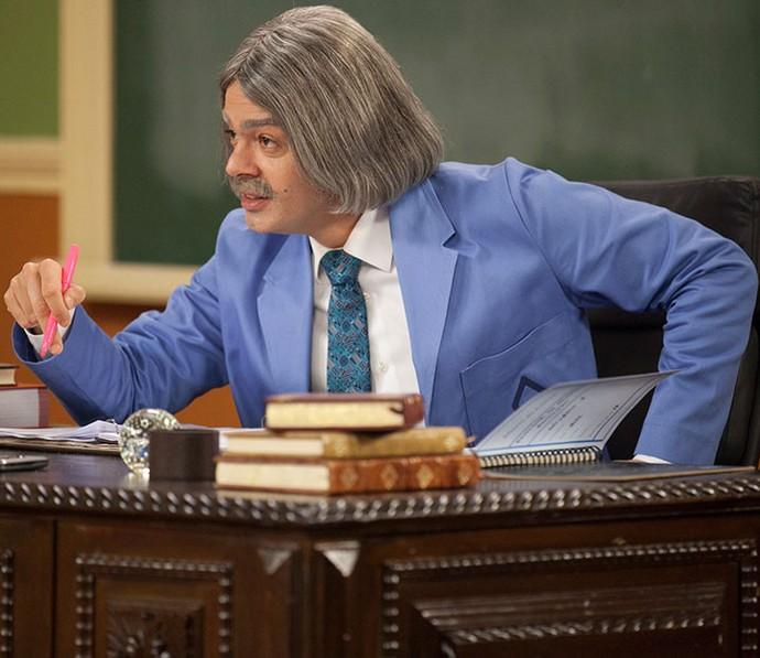 Professor Raimundo (Foto: Pedro Curi/Globo)