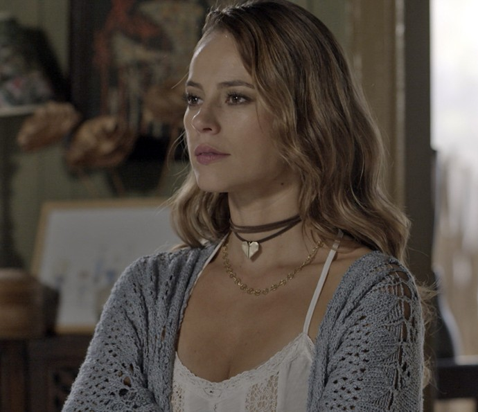 Melissa ameaça Felipe (Foto: TV Globo)