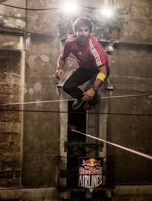 Carlos Neto slackline red bull (Foto: Red Bull Content Pool)