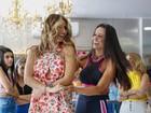 Fernanda D'ávila e Thaís Bianca dançam funk em evento; vídeo
