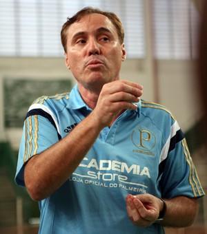 Régis Marrelli, técnico do Palmeiras Basquete  (Foto: Fabio Menotti / Ag. Palmeiras / Divulgação)