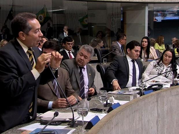 Assembleia Legislativa do Ceará (Foto: TV Verdes Mares/Reprodução)