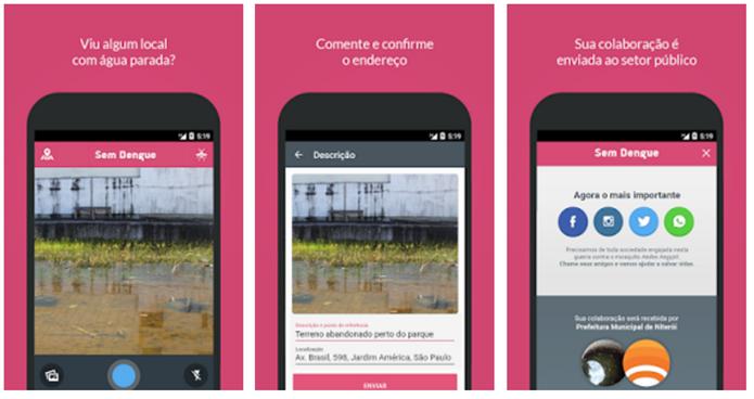 Este app ajuda a população a encontrar focos do mosquito (Foto: Divulgação/Google Play)