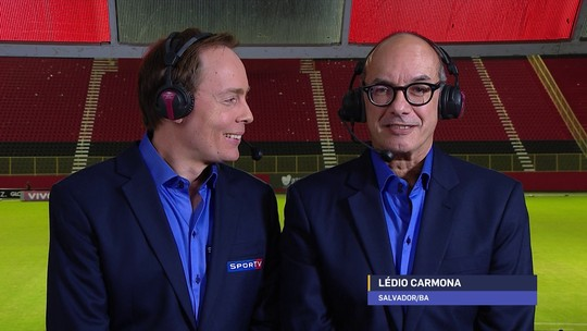 """Lédio Carmona elogia Fernandinho e elenco do Grêmio: """"Time impecável"""""""