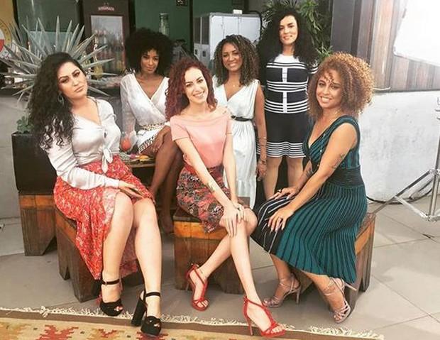 Duda, Aline, Tarcyla, Gill, Luiza e Amanda (Foto: Reprodução/Instagram)