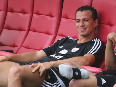 Leandro Damião Lance de Craque Beira-Rio (Foto: Eduardo Moura/GloboEsporte.com)