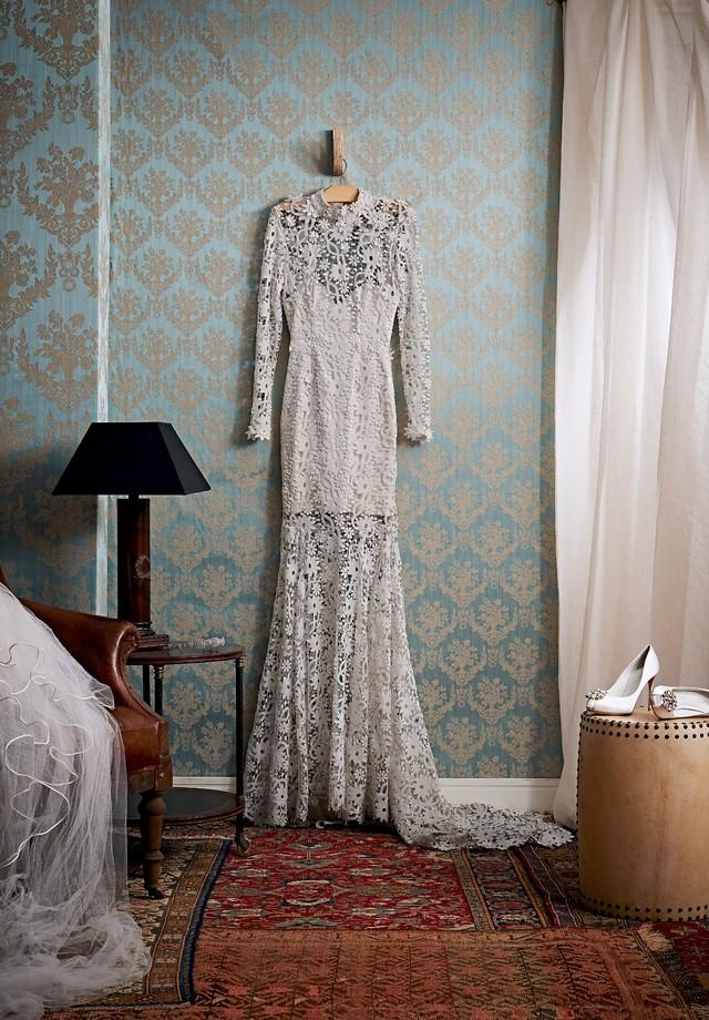 Antes de guardar, o vestido deve ser lavado e higienizado (Foto: Xico Buny/Arquivo Vogue)