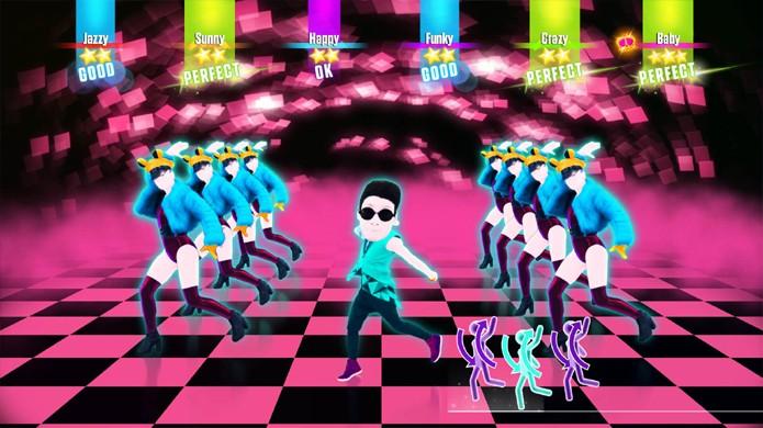 A música Daddy do cantor coreano Psy também estará em Just Dance 2017 para o Nintendo Switch (Foto: Reprodução/Just Dance Wiki)