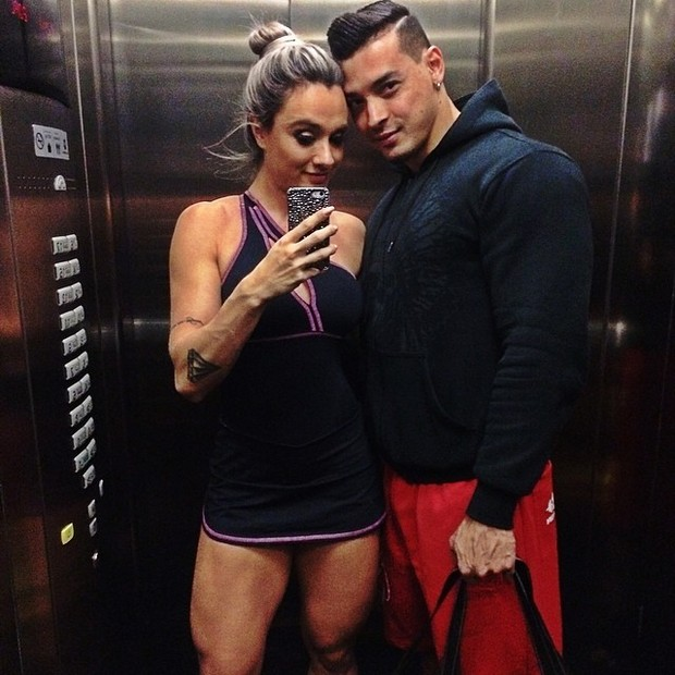 Juju Salimeni e Felipe Franco (Foto: Instagram)