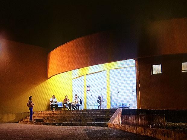 Delegacia de Plantão da Zona Norte de Natal fica na Avenida Dr. João Medeiros Filho, uma das mais movimentadas da região (Foto: Reprodução/Inter TV Cabugi)