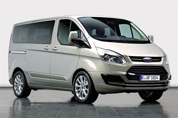 Ford Transit Custom europeu (Foto: Divulgação)