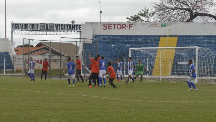 Osvaldo Cruz x Assisense - Campeonato Paulista Sub-17, Osvaldo Cruz sub-17 (Foto: Pedro Afonso / Osvaldo Cruz, Divulgação)