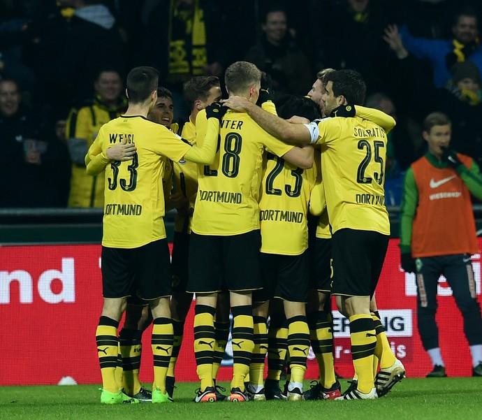 Borussia Dortmund Werder Bremen Campeonato Alemão (Foto: AFP)
