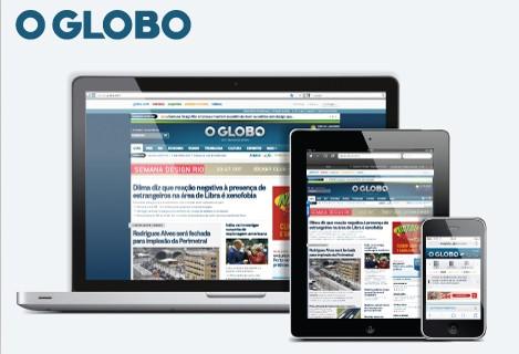 Conheça os formatos publicitários do site do Globo (Infoglobo)