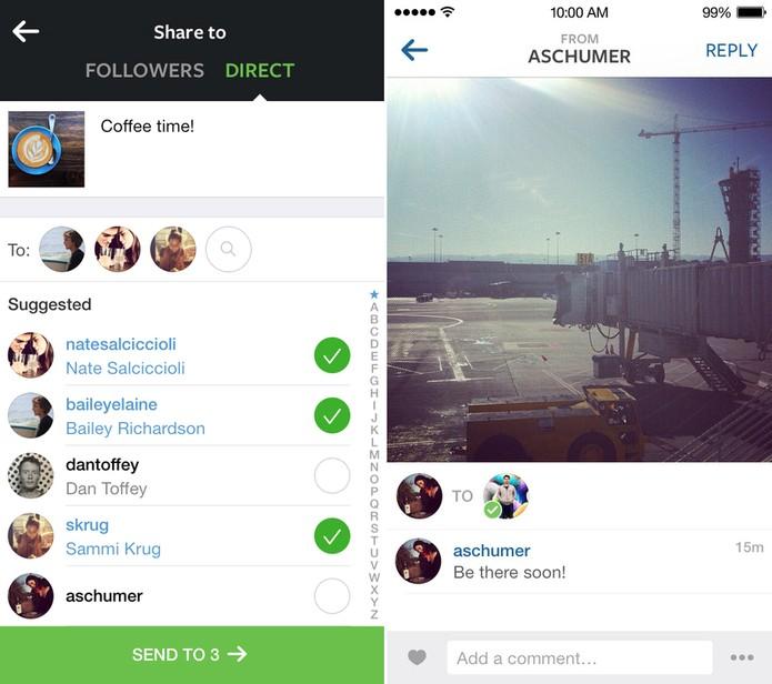 Instagram Direct (Foto: Divulgação/Instagram)
