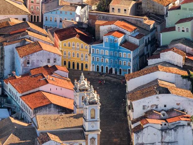 Exposição mostra Salvador em fotos aéreas  (Foto: Uiler Costa/Divulgação)