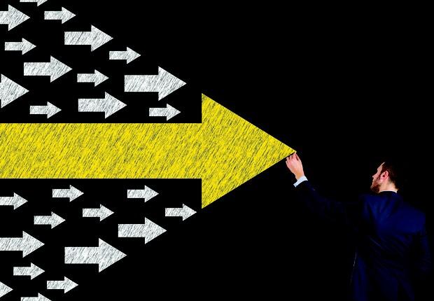 Liderança seta para direita (Foto: Thinkstock)