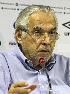 Vasco - Eurico Miranda (Foto: Divulgação/Site Oficial)