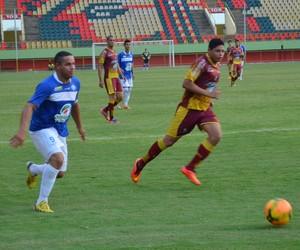 Tonho Cabanãs, atacante Atlético-AC (Foto: Duaine Rodrigues)