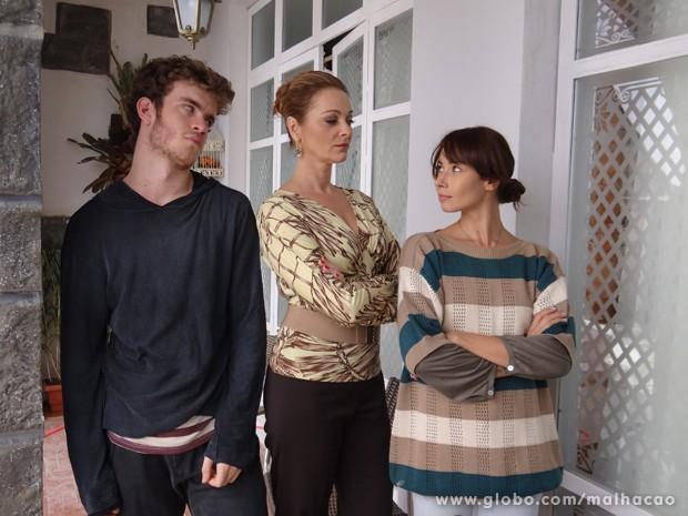 Zelândia é a sobrinha do interior de Maura, que chega para morar na cidade  (Foto: Malhação / TV Globo)