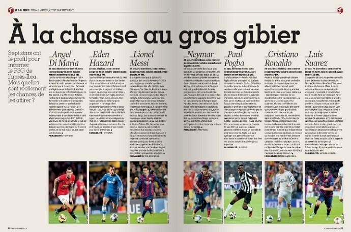 Reportagem da France Football lista sete craques que podem suceder Ibrahimovic
