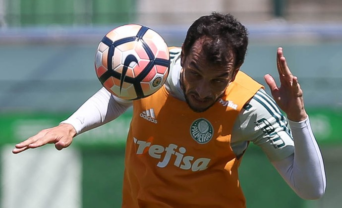 Edu Dracena, Palmeiras (Foto: Cesar Greco/Ag.Palmeiras)