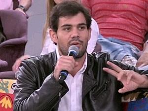 Juliano Cazarré (Foto: Encontro com Fátima Bernardes/TV Globo)