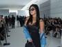 Mileide Mihaile, ex de Safadão, usa bolsa de R$ 20 mil em desfile de moda