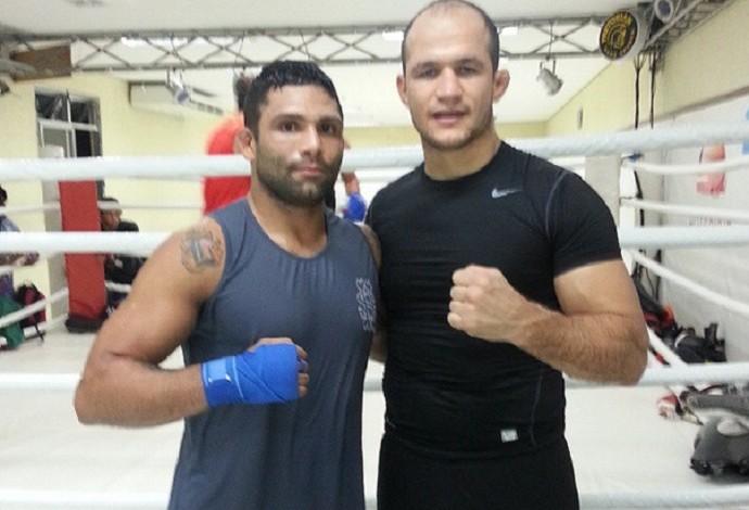 Claudio Mineiro Junior Cigano UFC Uberlândia treino (Foto: Reprodução/Instagram)