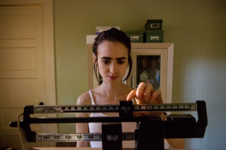 Lily Collins no filme O Suficiente para Viver (Foto: Divulgação)