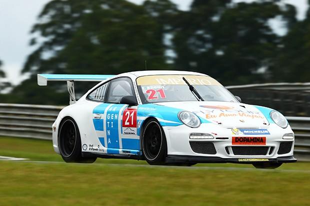 Porsche Challenge do piloto Eloi Khouri. (Foto: Divulgação/Luca Bassani)