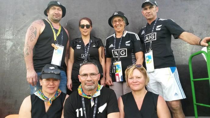 família Portia Woodman rugby Nova Zelândia (Foto: Leo Velasco)