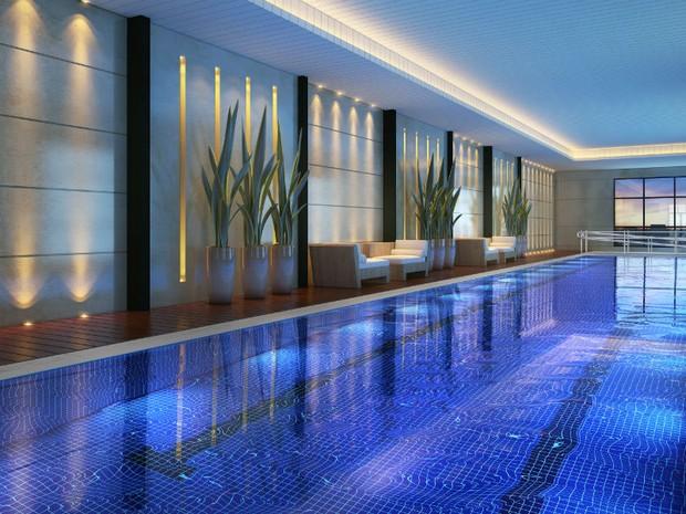 G1 edif cio dijon traz novo conceito de luxo e for Piscina 50 metros pontevedra