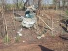 Três ficam feridos e motorista morre após carro bater em árvore