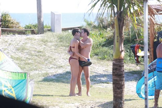 Sophie Charlotte e Daniel de Oliveira (Foto: Dilson Silva / AgNews)