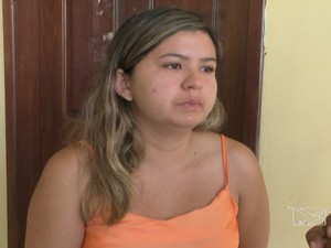 Jorgiane Carvalho, tia da menina Ana Clara (Foto: Reprodução/TV Mirante)