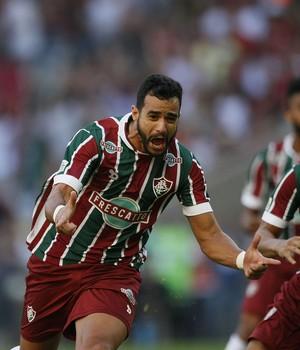 Henrique Dourado Fluminense x Flamengo (Foto: André Durão)