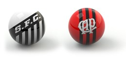 Guia da rodada 37 - Santos x Atlético-PR (Foto: Editoria de Arte)