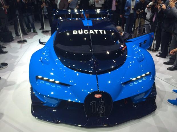 Bugatti Vision Gran Turismo (Foto: Autoesporte)