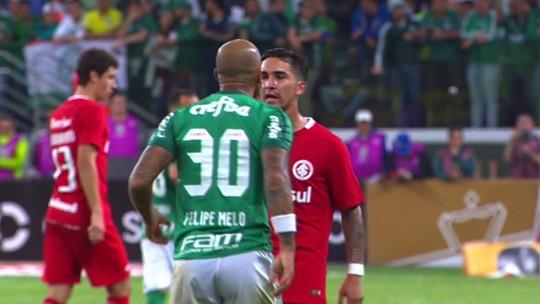 Sem faíscas: D'Ale e Felipe Melo trocam só gentilezas no grande encontro
