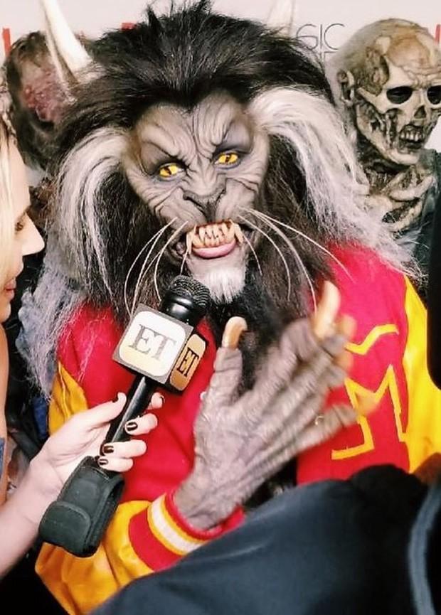 Heidi Klum dá detalhes da fantasia de Halloween de 2017 (Foto: Reprodução/Instagram)