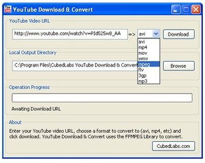 YouTube Donwload & Converter