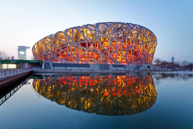 Estádio Olímpico de Pequim (Foto: Reprodução/Famsteel)