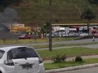 Manifestações bloqueiam rodovias no Norte de SC e Vale do Itajaí